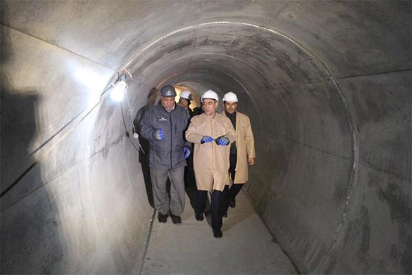 اولین تونل برق رسانی آذربایجان شرقی
