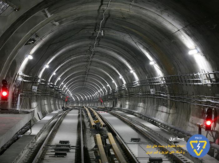 شبکه برق رسانی مترو