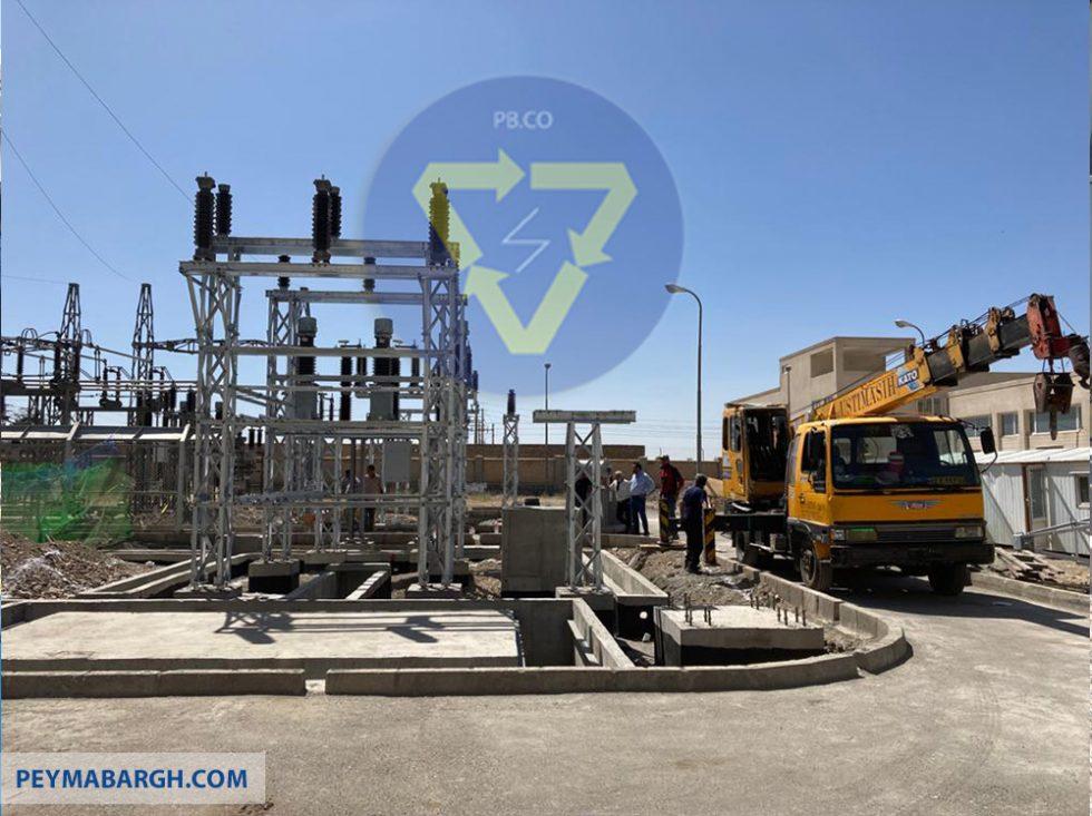 ساخت پست برق